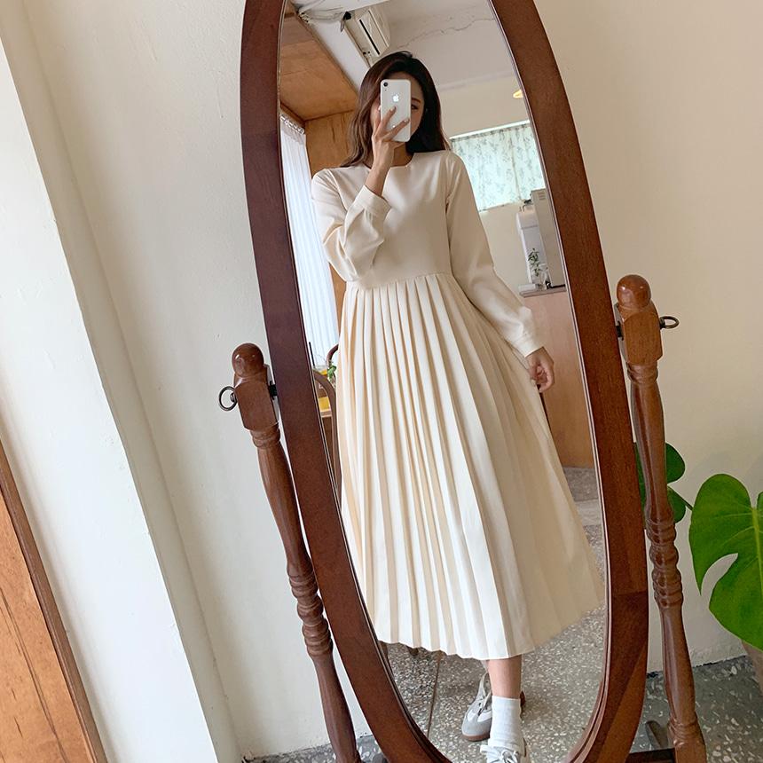 envylook-르네플리츠원피스♡韓國女裝連身裙