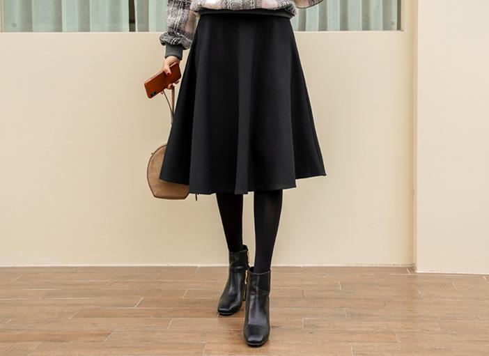 clicknfunny-[프올드 플레어스커트[S,M,L사이즈]]♡韓國女裝裙