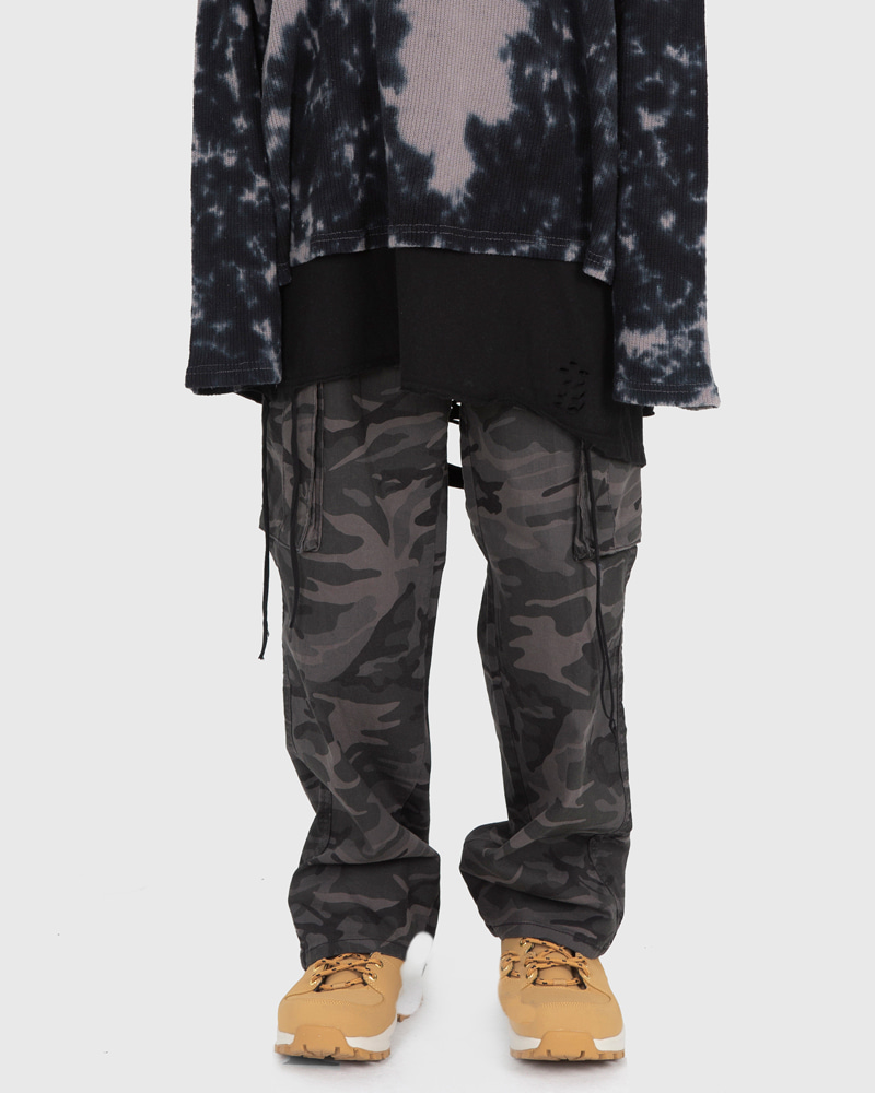 raucohouse-MILITARY COTTON CARGO PANTS - RAUCO HOUSE♡韓國男裝褲子
