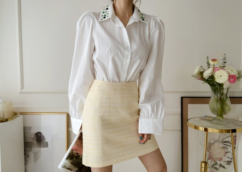 myclassy-Citrus mini skirt♡韓國女裝裙