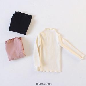 agiddongbaby-◇바로사용 쿠폰증정◇블루꾸숑.도톰골지날라리티[3color]*S-XL*♡韓國童裝上衣