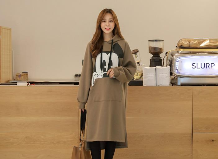 clicknfunny-[킨델기모 미키원피스]♡韓國女裝連身裙