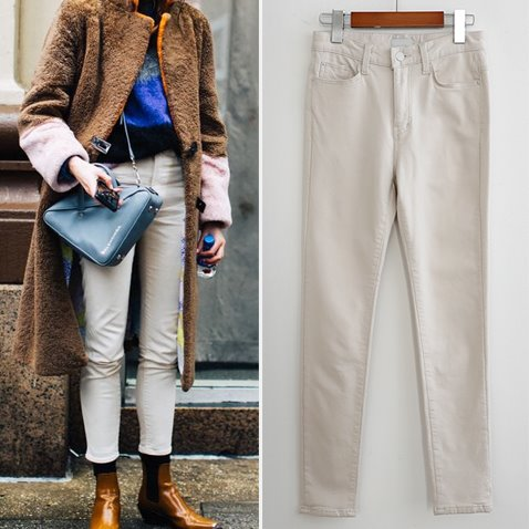 jooen-PT2204/Daily Napping Straight Pants(XS~L)♡韓國女裝褲