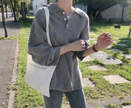 withyoon-button knit (울 60%)♡韓國女裝上衣
