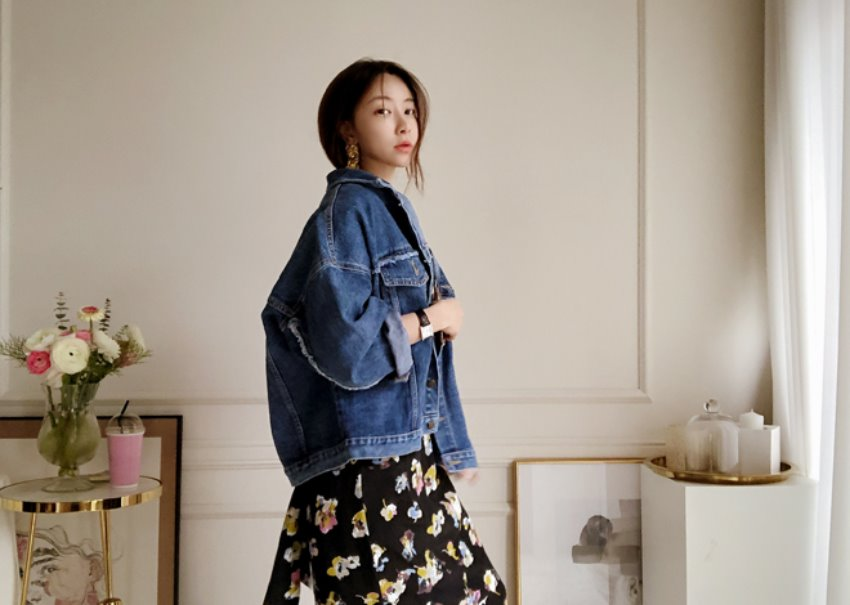myclassy-Bro denim jacket♡韓國女裝外套