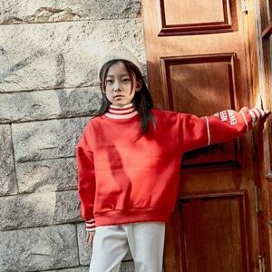 agiddongbaby-◆바로사용 쿠폰증정◆리키즈JR.요꼬맨투맨티[겨자/레드]*9호~17호*♡韓國中童裝