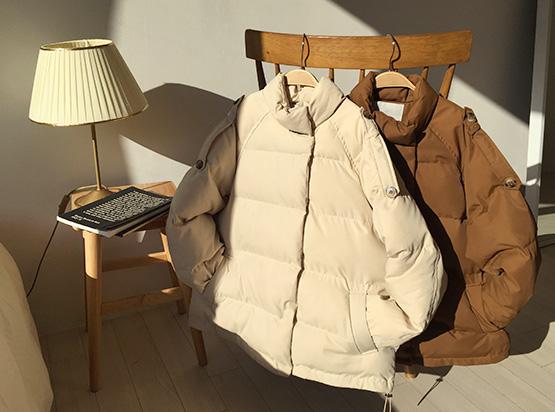 hellosweety-[포이스 덕다운 숏패딩]♡韓國女裝外套