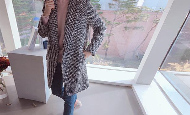 leelin-[에이미 트위드 코트]♡韓國女裝外套