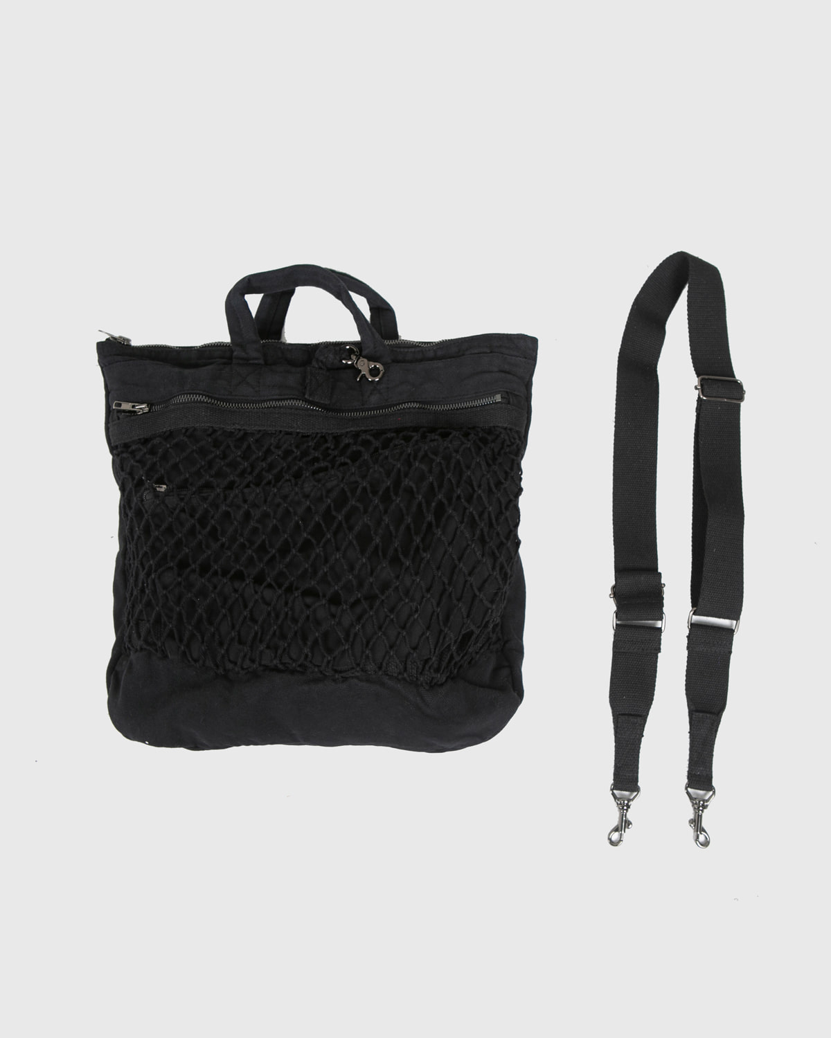 raucohouse-BASIC NET CROSS BAG - RAUCO HOUSE♡韓國男裝袋