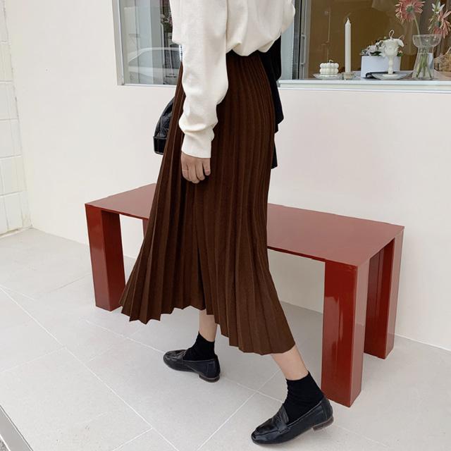k-club-너즈 플리츠스커트♡韓國女裝裙
