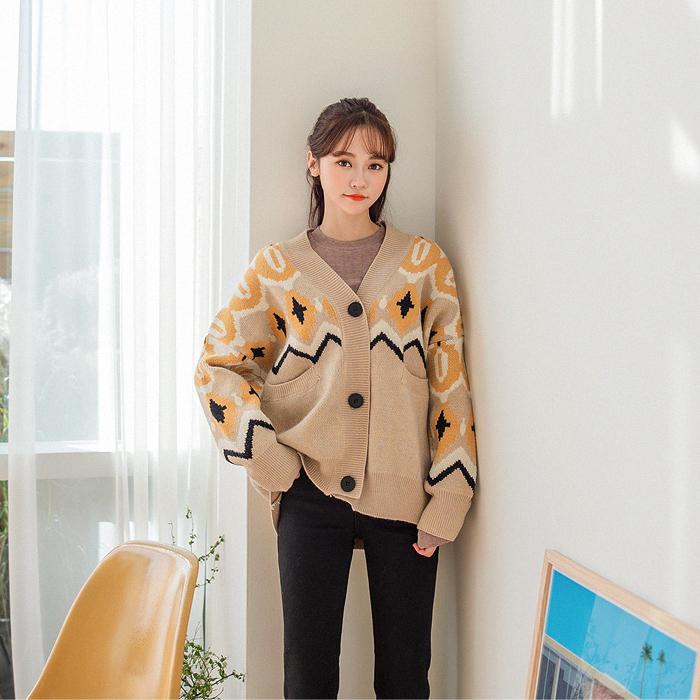 09women-[리놀레 자수 니트 가디건 46431]♡韓國女裝外套