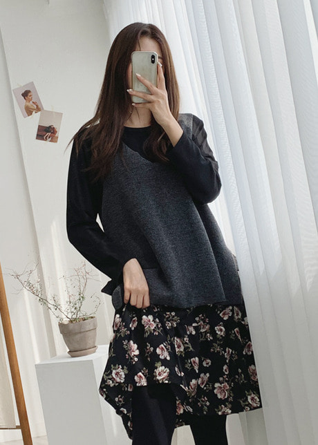 loloten-리카꽃 드레스 세트♡韓國女裝套裝