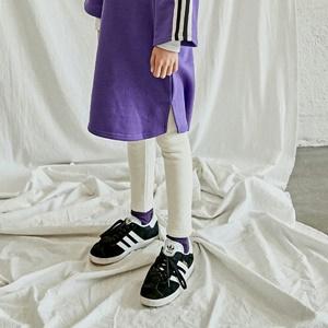 agiddongbaby-◆바로사용 쿠폰증정◆리키즈JR.기모레깅스[검정/아이보리]*9호~17호*♡韓國中童裝