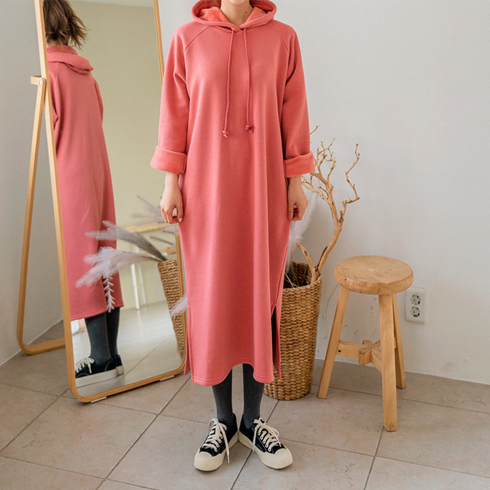 09women-[샤미 밍크기모 후드 원피스 46766]♡韓國女裝連身裙