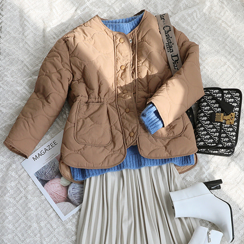 jooen-OT1884/Waist String Daily Nubim Jumper(55~통통66)♡韓國女裝外套