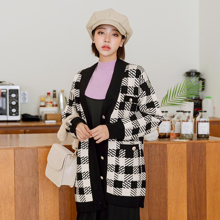 09women-[샤블리 골드 트위드 가디건 46301]♡韓國女裝外套