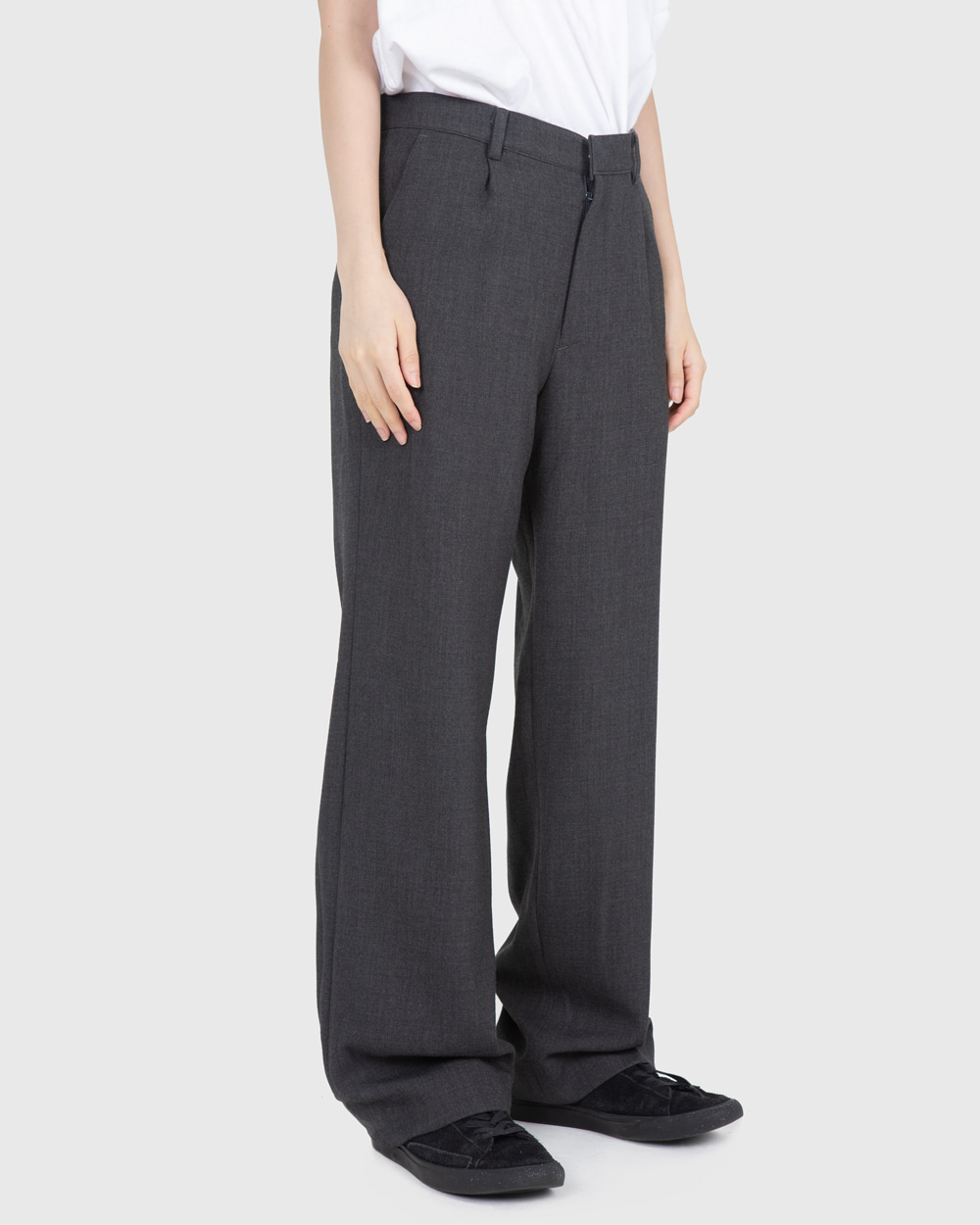 raucohouse-FW LOOSE WIDE SLACKS - RAUCO HOUSE♡韓國男裝褲子