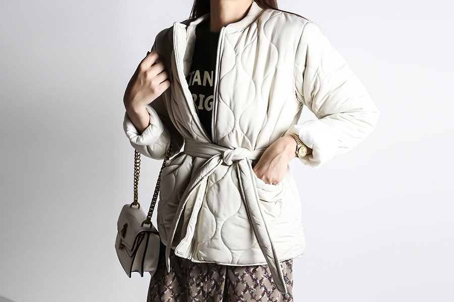 blancjo-웨이브 퀼팅 패딩 자켓_jk03455♡韓國女裝外套