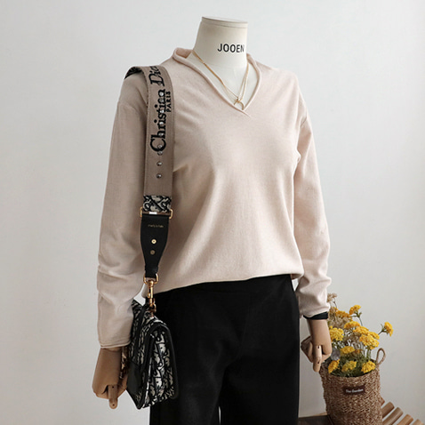jooen-T4256/Mini Hood Soft Knit Top(55~통통66)♡韓國女裝上衣