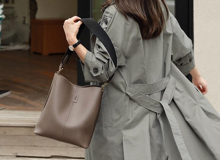 clicknfunny-[ 애슐런 숄더백]♡韓國女裝袋