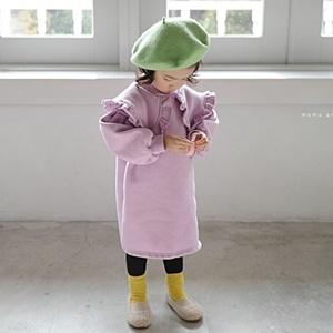 agiddongbaby-◇바로사용 쿠폰증정◇모모앤.프릴카라원피스[핑크/보라]*5호~15호*♡韓國童裝連身裙