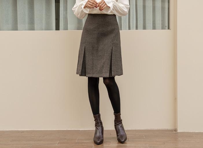 clicknfunny-[토블로 울스커트[S,M사이즈]]♡韓國女裝裙