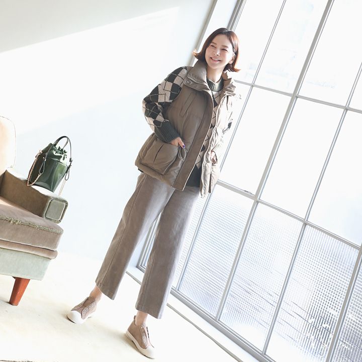 lemite-쏘머치핫 조끼패딩♡韓國女裝外套