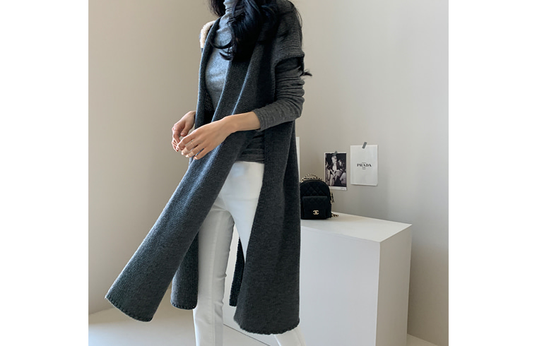 dailylook-[DAILY MADE] 레이어숄♡韓國女裝外套