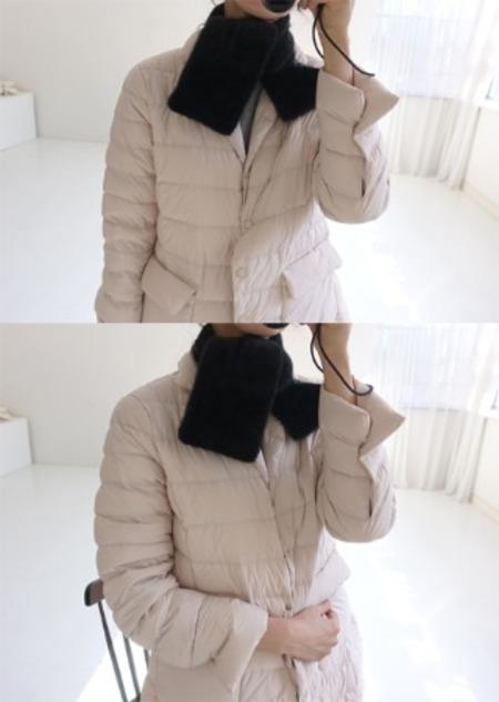 misharp-퍼 넥 워머 (4 color)♡韓國女裝飾品