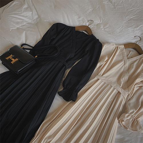 derang-로쉐리츠-ops (2 colors)♡韓國女裝連身裙