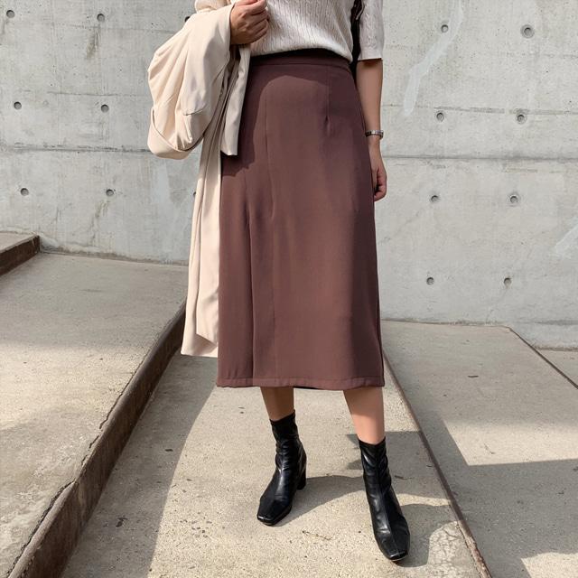k-club-제시 트임스커트♡韓國女裝裙