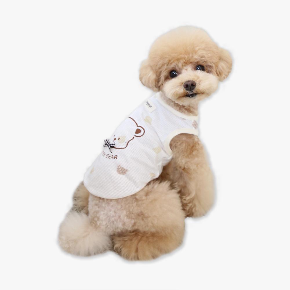 itsdog-[오가닉 오 마이 베어 티셔츠]♡寵物衫
