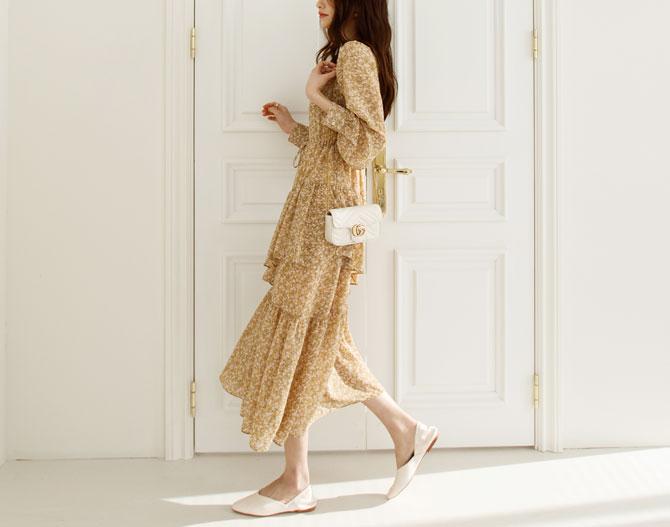 chichera-[샤론프릴롱원피스]♡韓國女裝連身裙