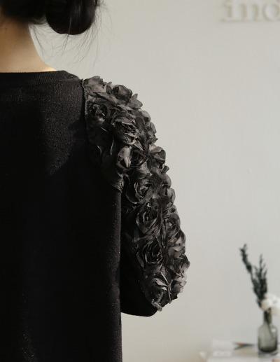 indibrand-로즈 니트 (수입)♡韓國女裝上衣