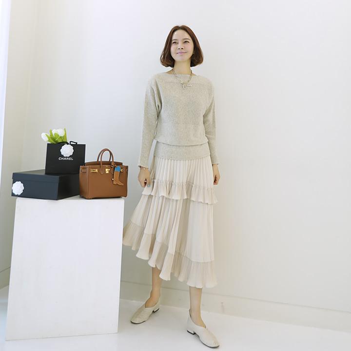 lemite-찰랑거려 캉캉스커트♡韓國女裝裙