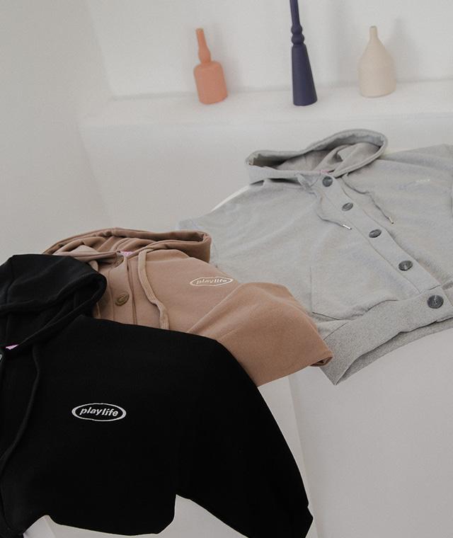 kikiko-PLAY.K플레이라이프버튼가디건♡韓國女裝外套