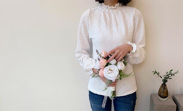 leelin-[프레미 레이스 블라우스]♡韓國女裝上衣