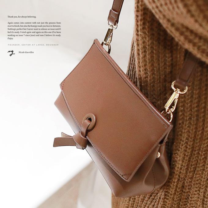 wingsmall-루미닌(트라이앵글BAG)♡韓國女裝袋