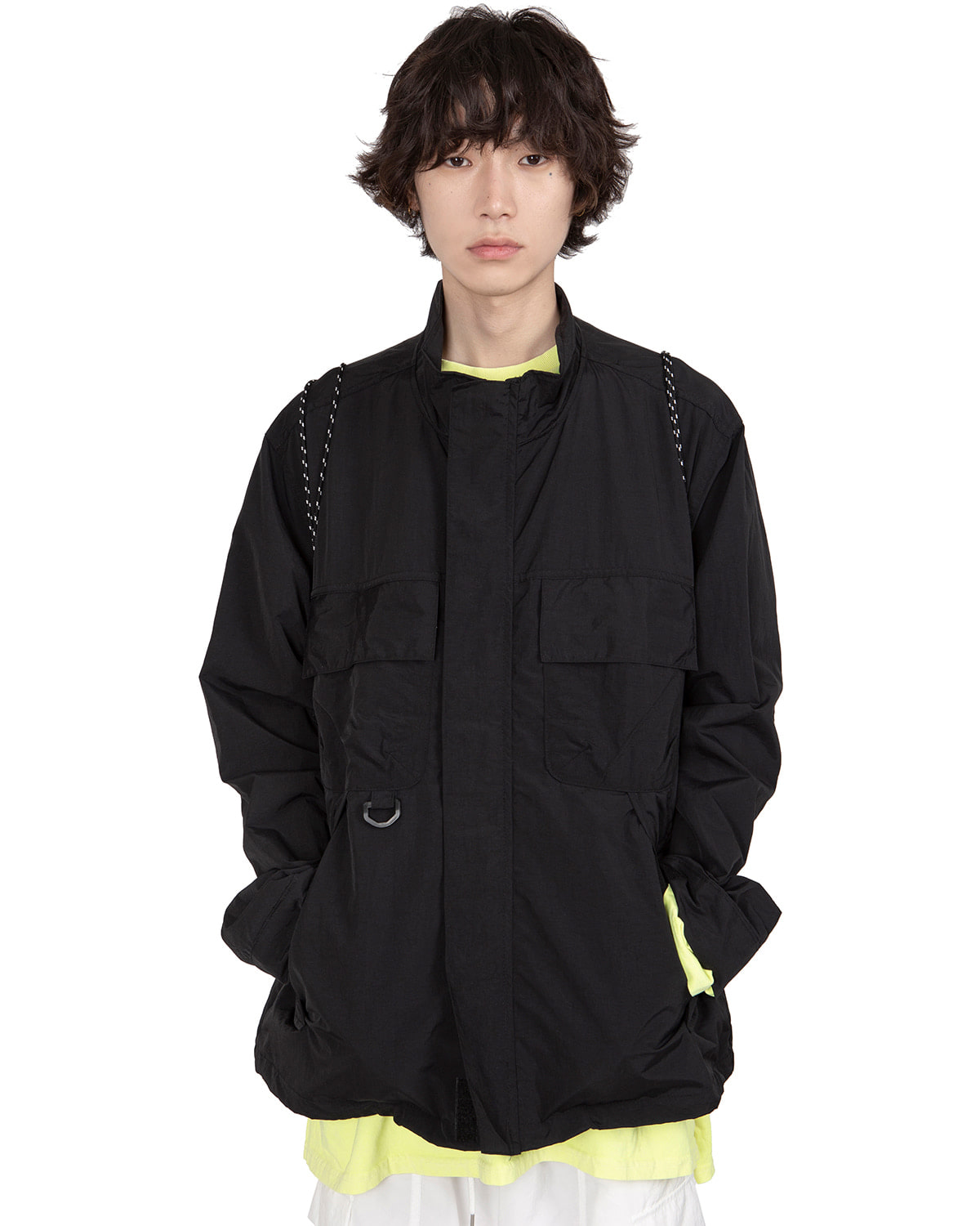 raucohouse-NYLON D RING DETAIL POCKET JACKET - RAUCO HOUSE♡韓國男裝外套