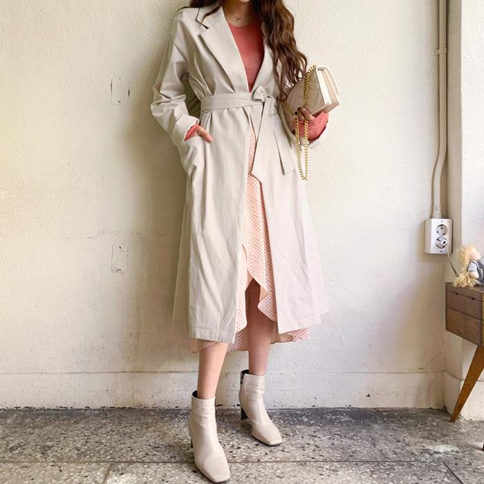 deepny-알티트렌치코트 디프니♡韓國女裝外套