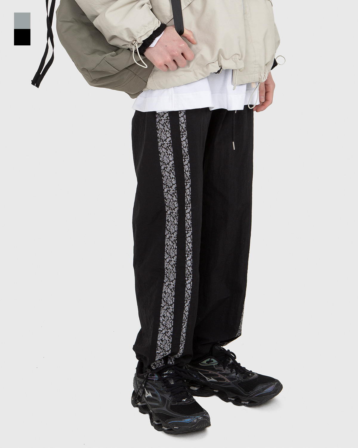 raucohouse-PAISLEY DOUBLE LINE PANTS - RAUCO HOUSE♡韓國男裝褲子