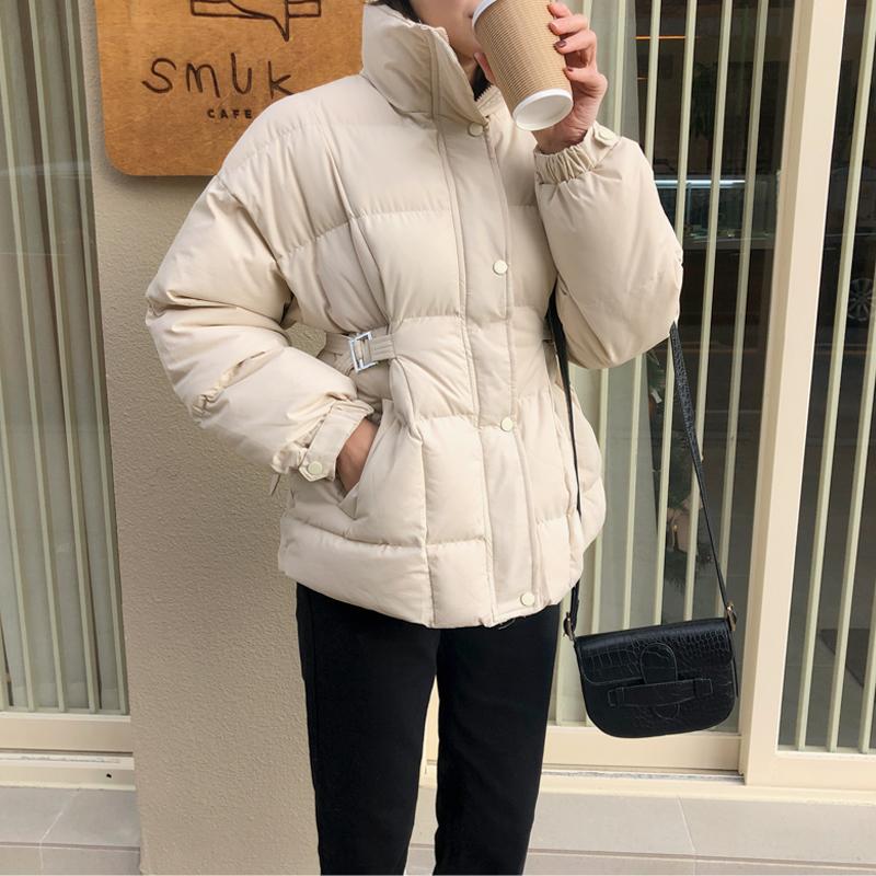 uptownholic-[[가성비 최고 ♥] 하이넥 버클 jp (*3color)]♡韓國女裝外套