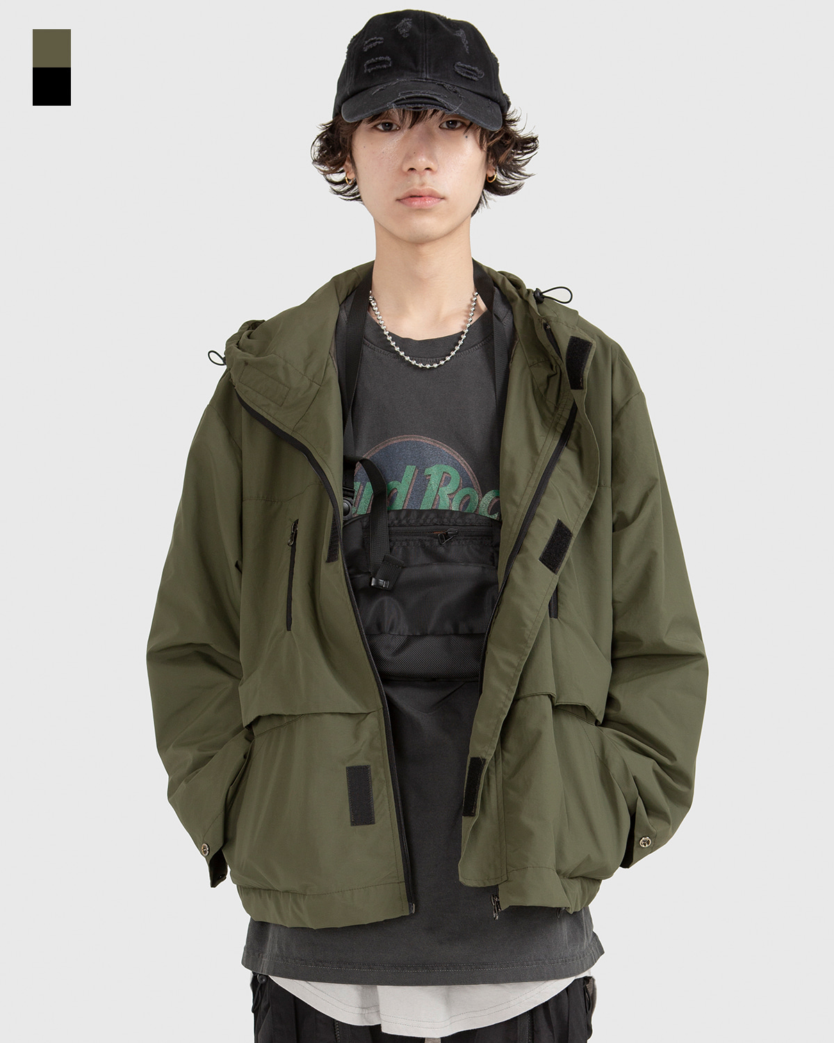 raucohouse-OUTDOOR HOODED JACKET - RAUCO HOUSE♡韓國男裝外套