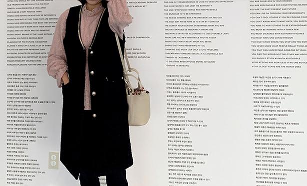leelin-[보니 트위드 진주 롱 베스트]♡韓國女裝外套