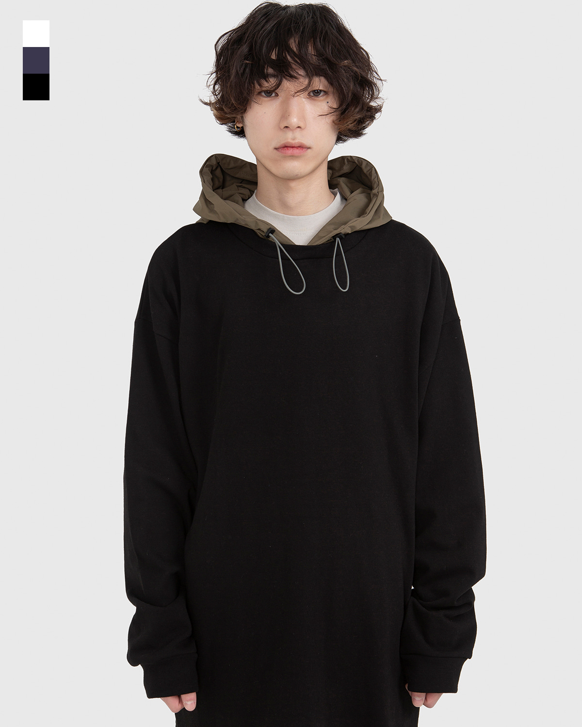raucohouse-RAGE PULL OVER HOODIE - RAUCO HOUSE♡韓國男裝上衣