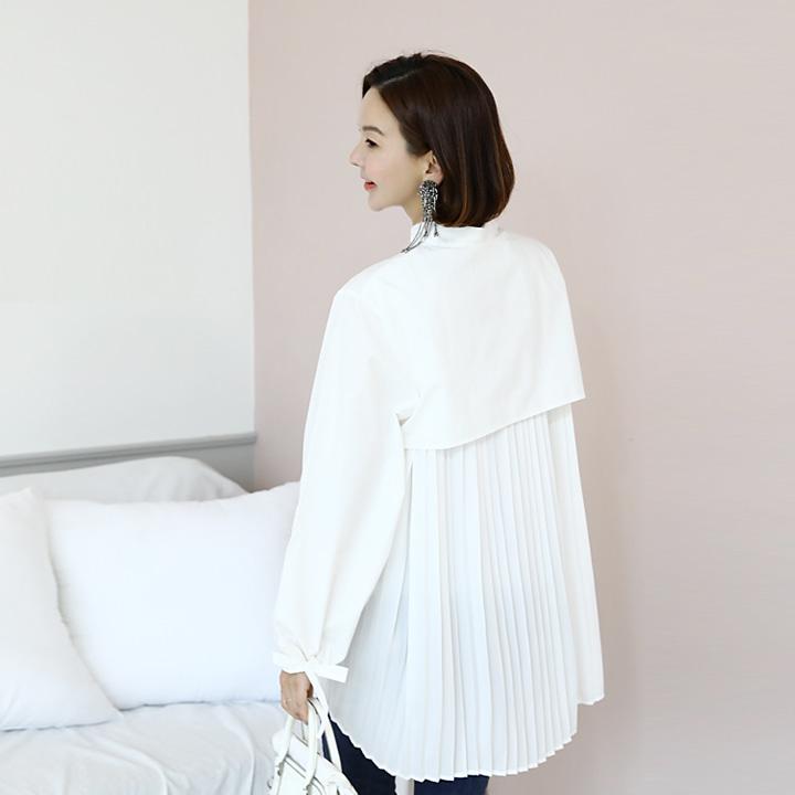 lemite-쉬르폰 셔츠♡韓國女裝上衣