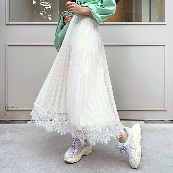 deepny-밀리도트샤스커트 디프니♡韓國女裝裙