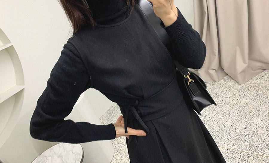 ribbontie-미엘 OPS♡韓國女裝連身裙
