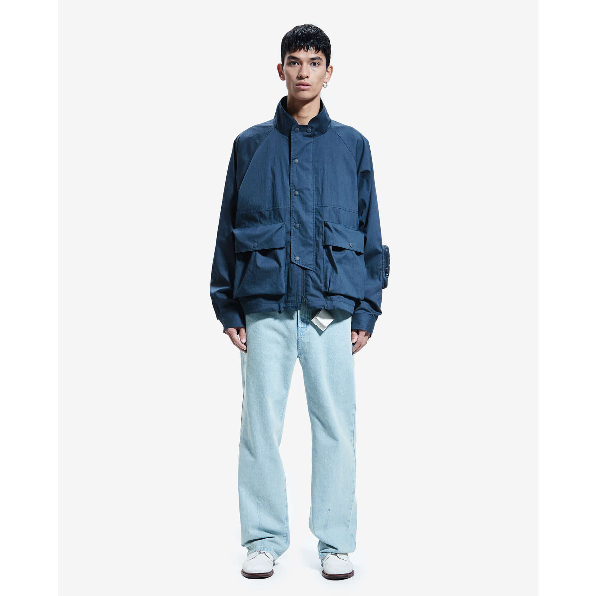 layer-COMFORT MOUNTAIN JACKET prussian blue♡韓國男裝外套