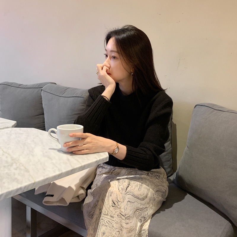 uptownholic-[크롭 베이직 knit (*4color)]♡韓國女裝上衣